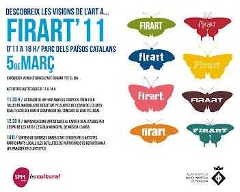 CARTEL FIRART `11 DE SANTA PERPETUA
