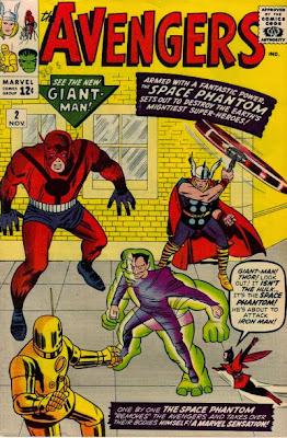 Avengers #2, Space Phantom