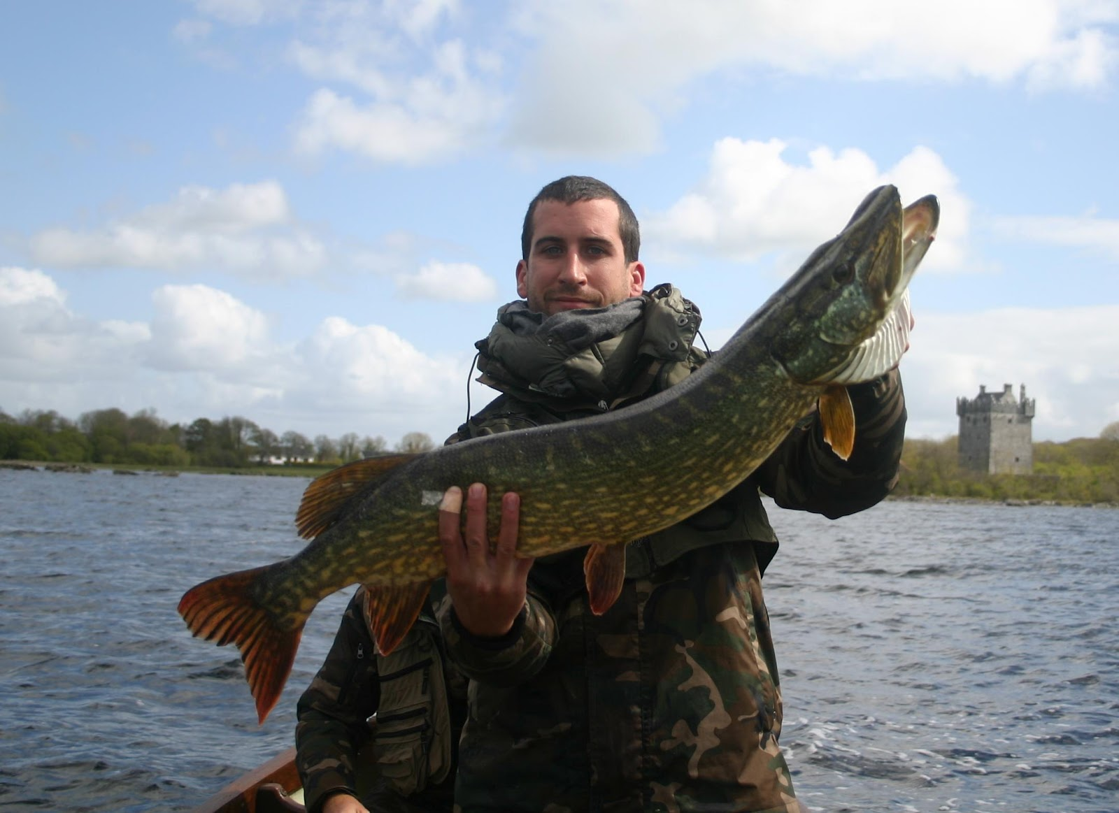 International fishing news ireland pike report from for Pictures of pike fish