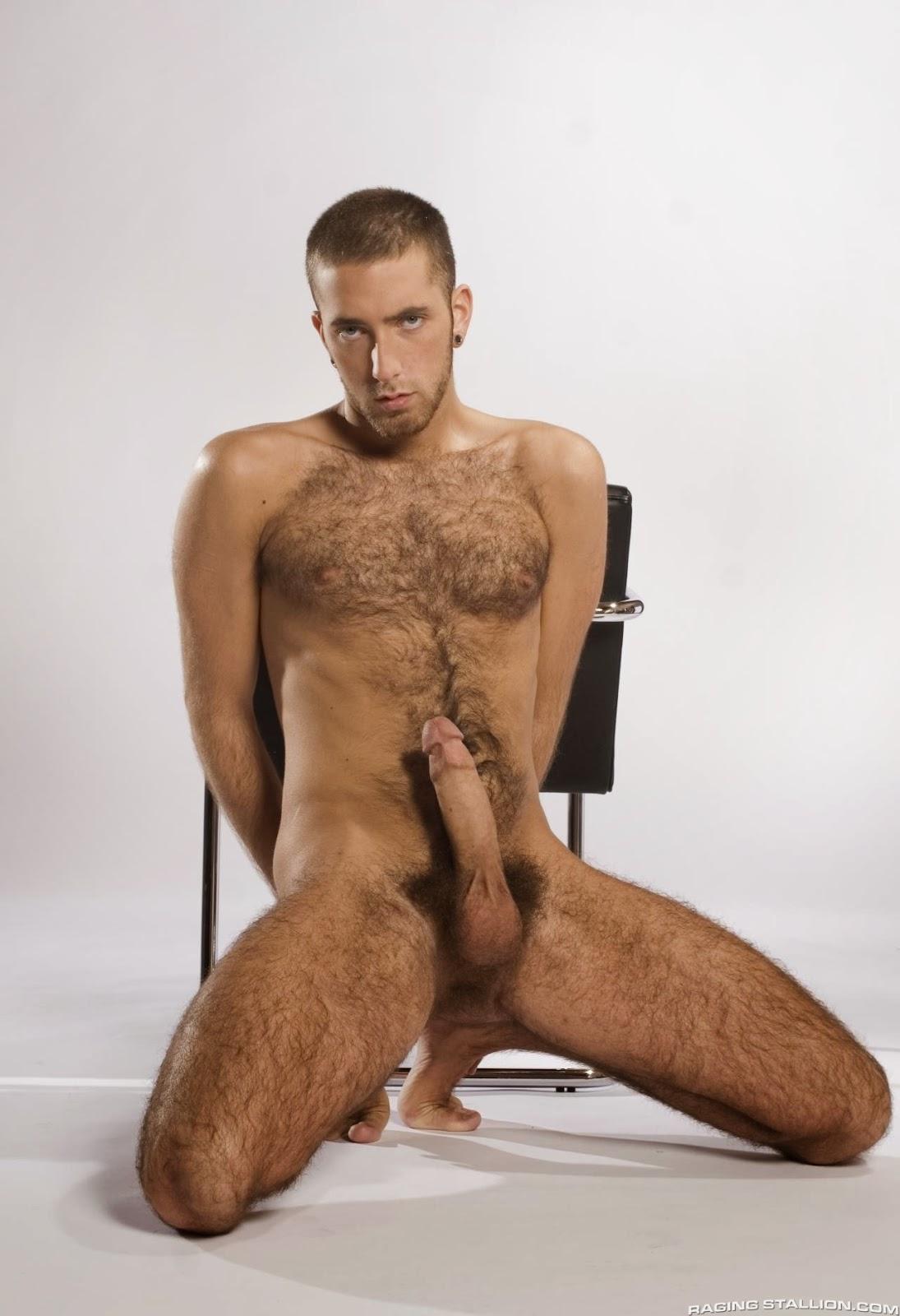 men hung Tall hairy