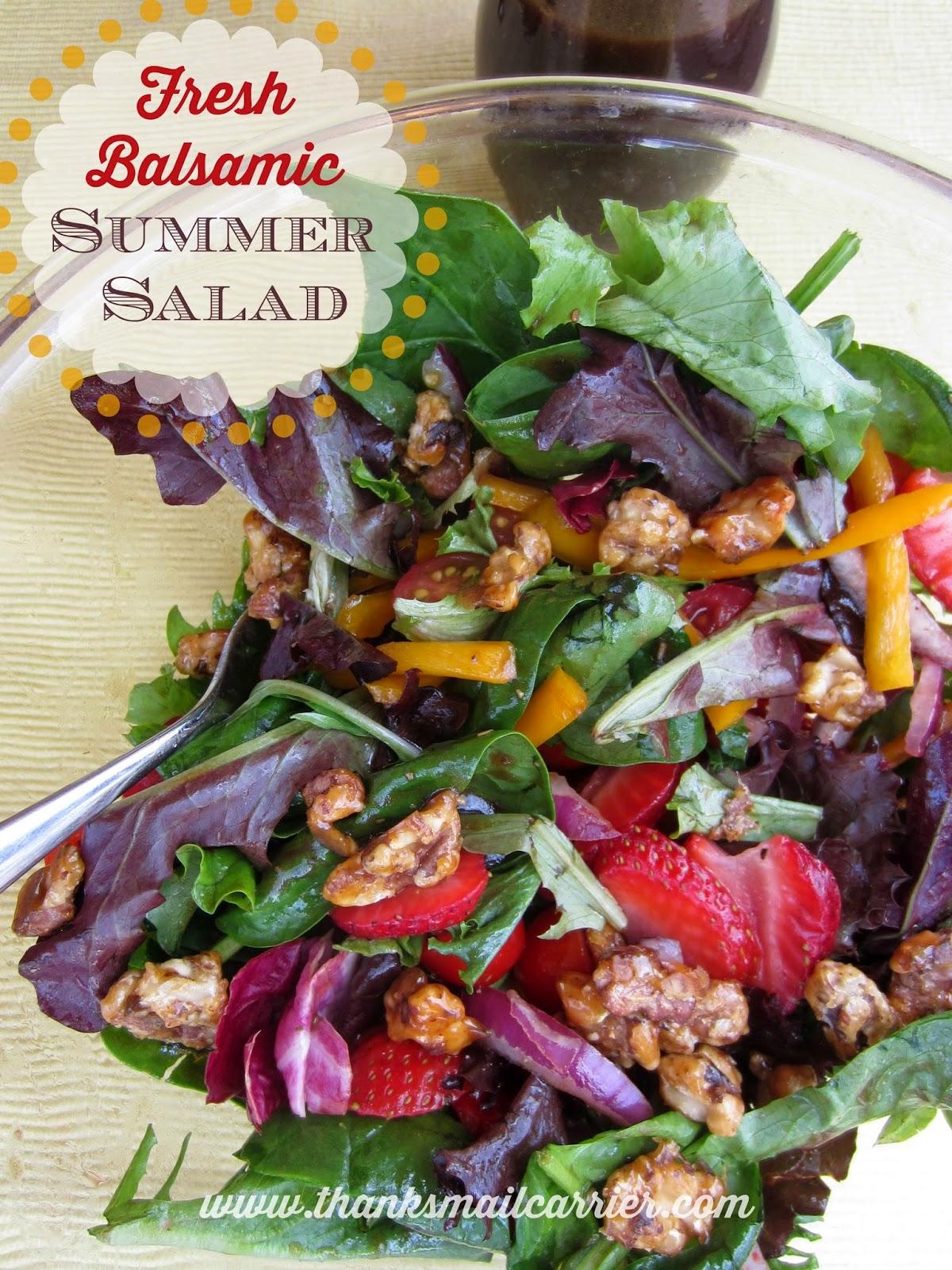 Balsamic Summer Salad