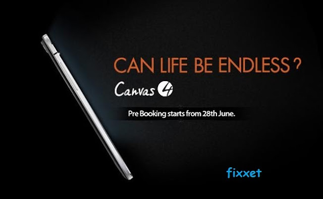 canvas 4 prebook starts &  specs will be revealed on june 8th