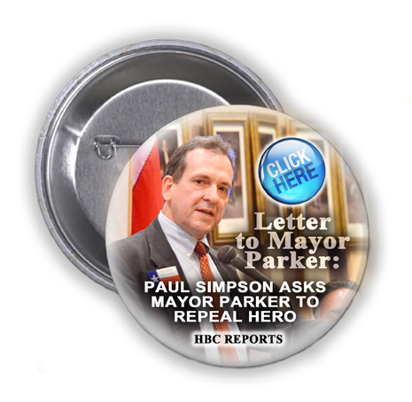 TUESDAY, AUGUST 4, 2015 CITY COUNCIL MEETING COULD DETERMINE THE FATE OF HERO ORDINANCE