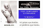 """VIII CERTAMEN LITERARIO """"CHISPA"""""""