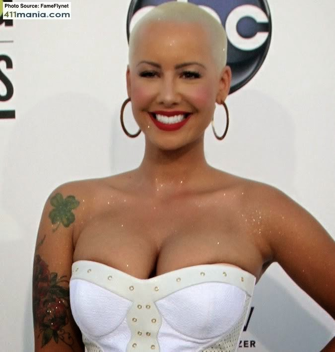Amber Rose Naked In Kanye Wests Famous Video