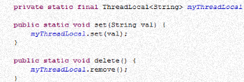Java Thread Local with simple example