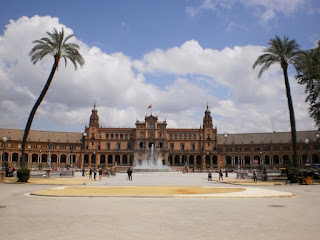 Plaza de España, fountain