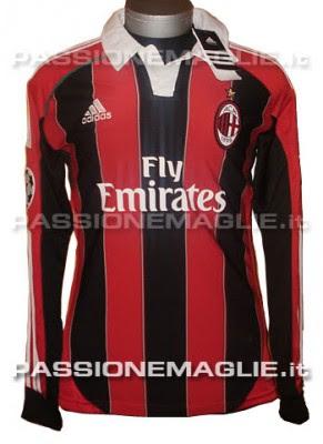 Camiseta Del Milan 2012 2013 Conocida  O Maglia Del Milan 2012 2013
