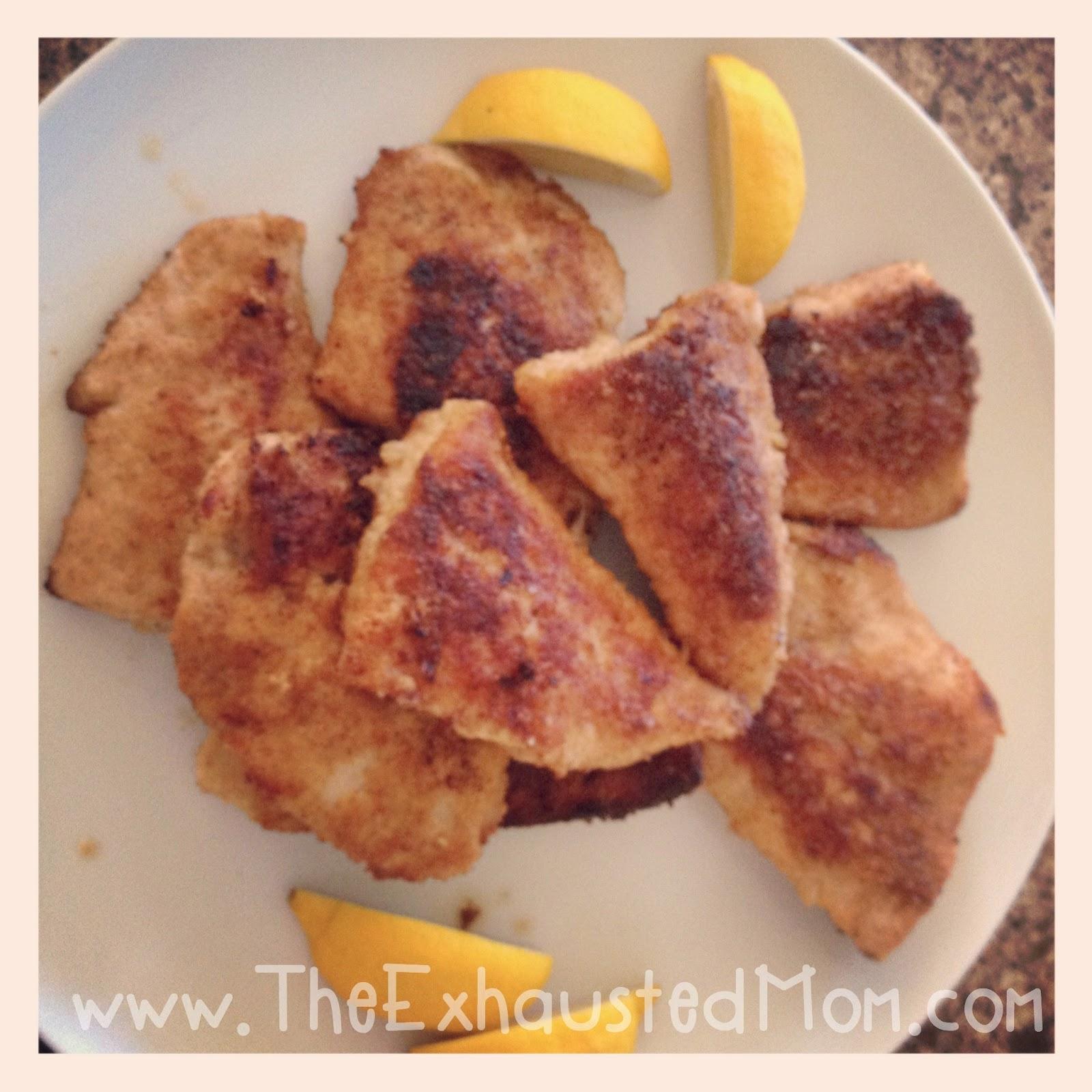 Turkey Cutlets with Parmesan Bread-Crumb Crust