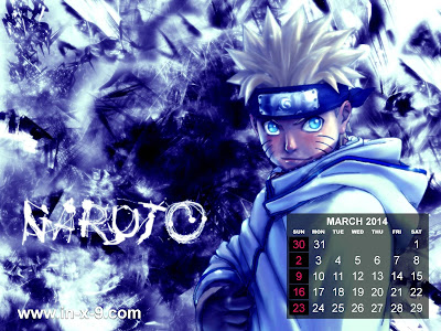 panambang naruto kalender 2014