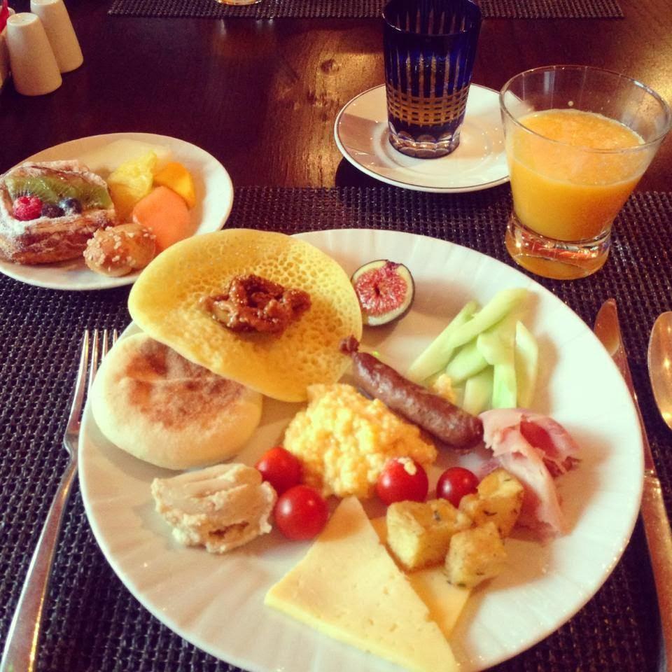 four seasons marrakech breakfast
