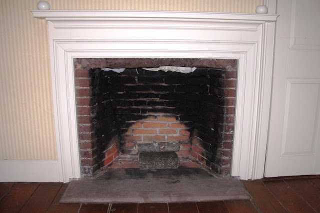Touring my home possible addition confessions of an for Rumford fireplaces