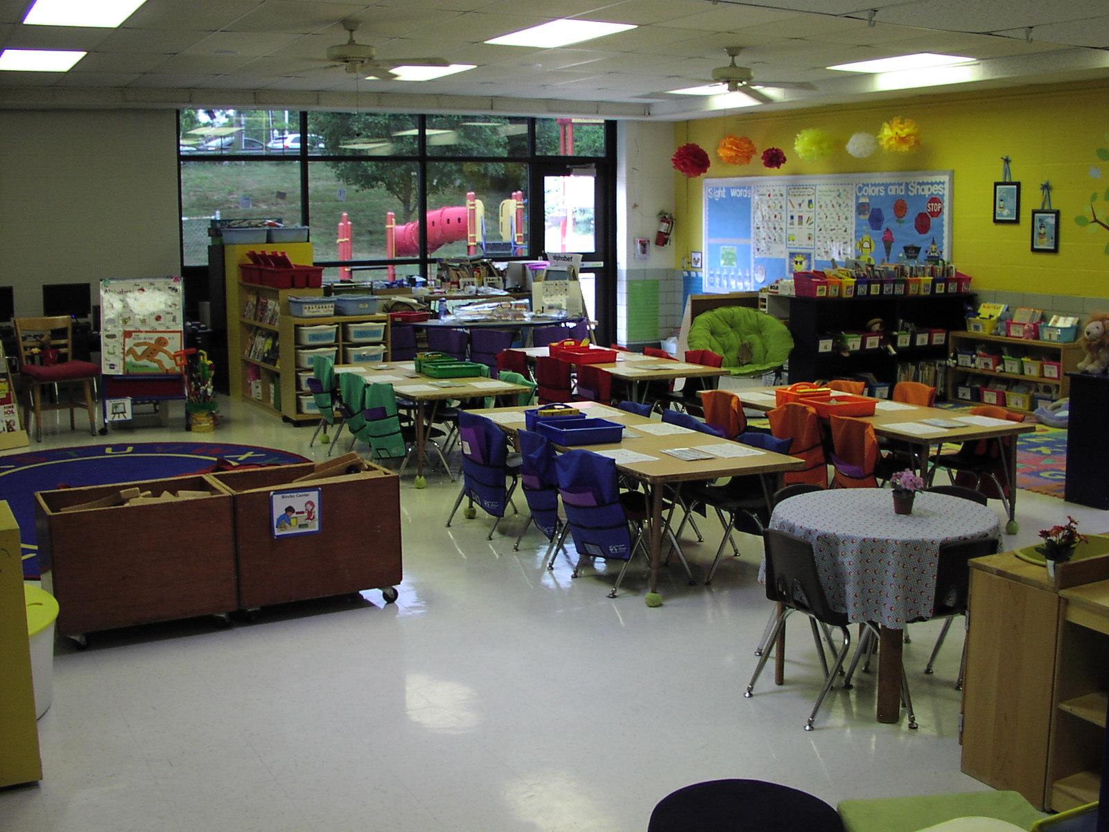 Classroom Setup Ideas For Kindergarten : Keen on kindergarten classroom pics