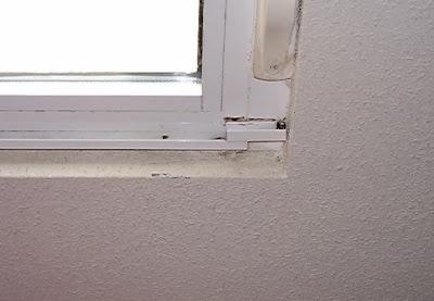 Condensación sobre ventana.