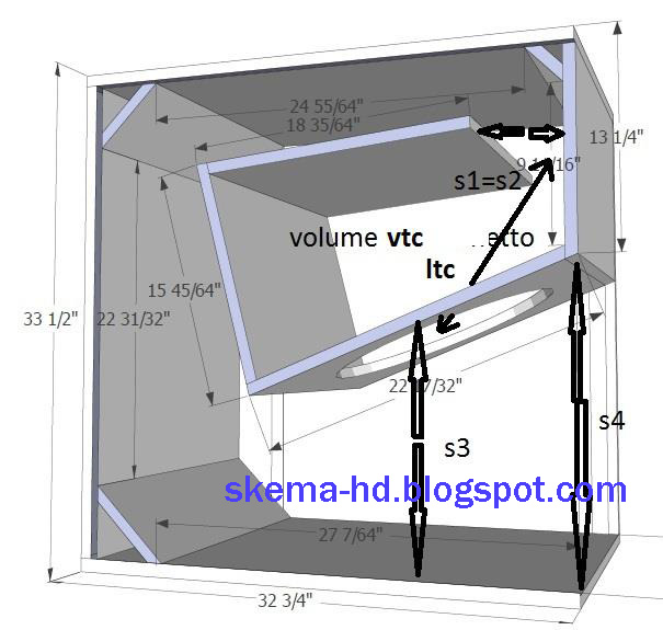 4 12 inch subwoofer box plans 4 free engine image for for Ukuran box salon 8 inch