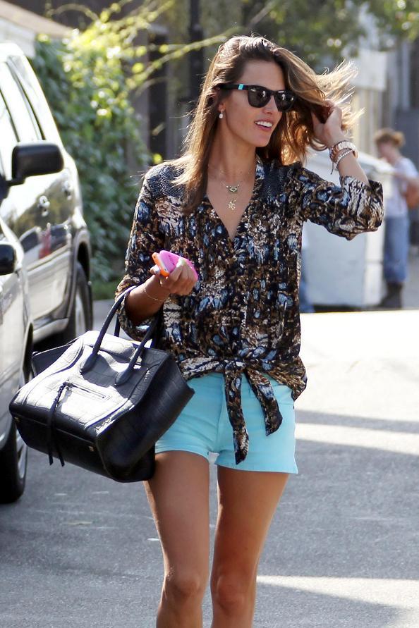Alessandra Ambrosio Street Style 2012 - Alessandra Ambrosio - Zimbio