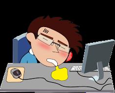 สติ๊กเกอร์ เลซี่ โปรแกรมเมอร์ Lazy Programmer