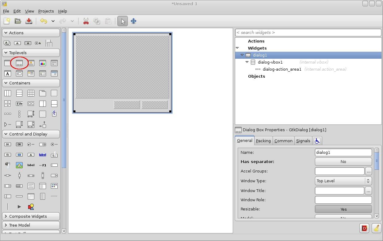 Создание графических приложений c