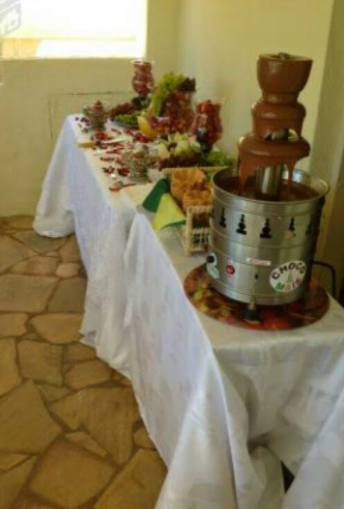 ChocoShow Eventos - Cascatas de Chocolate