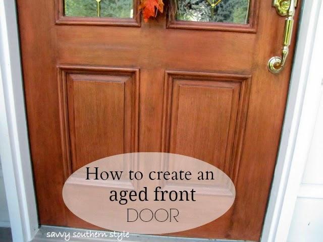 Savvy southern style front door tutorial - How to paint a steel exterior door ...