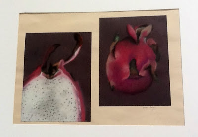 Art Intertwine - External/Internal Fruit and Vegetable Drawing