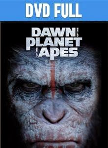 El Planeta De Los Simios Confrontación DVD Full Latino 2014