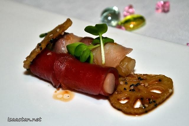 Wild Caught Japanese Madai & Yellowfin Tuna