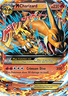 Mega Charizard EX Y Flashfire Pokemon Card