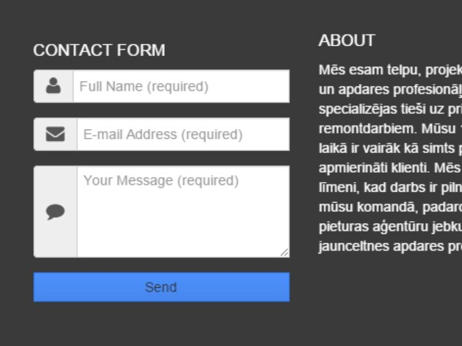 tutorial customise Blogger Contact Form styles using Bootstrap3 classes