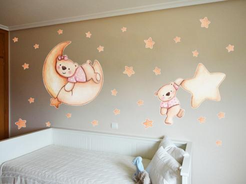Decopared decoracion de paredes con vinilos infantiles for Murales y vinilos infantiles