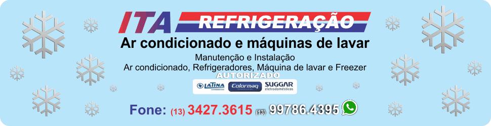 Ita Refrigeração - Ar condicionado em Itanhaém - Refrigeração em Itanhaém - Conserto de geladeira