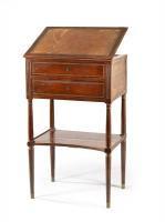 Ecritoire mobiletto usato per lettura, scrittura e per riporre carte, penne e inchiostro
