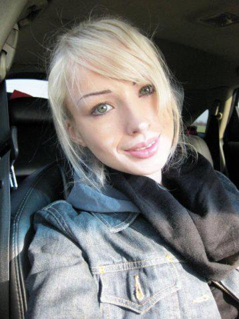Lukyanova before surgery and no make up, clean face