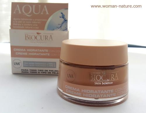 Biocura crema hidratante con color