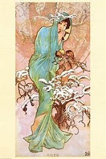 Alfons Mucha, peintre, affichiste, graphiste ... tchèque.