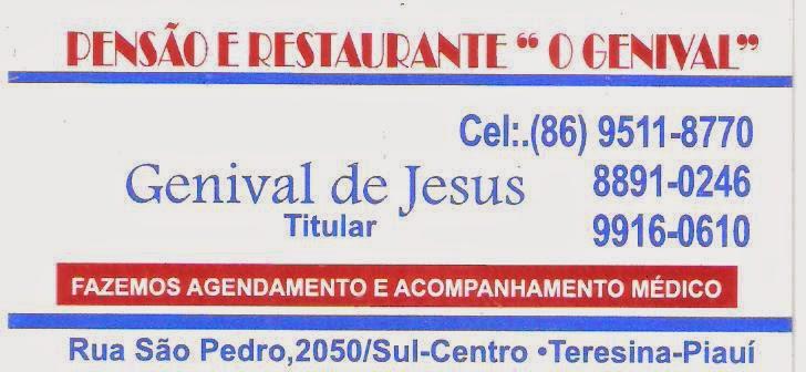 """PENSÃO E RESTAURANTE """"O GENIVAL"""""""