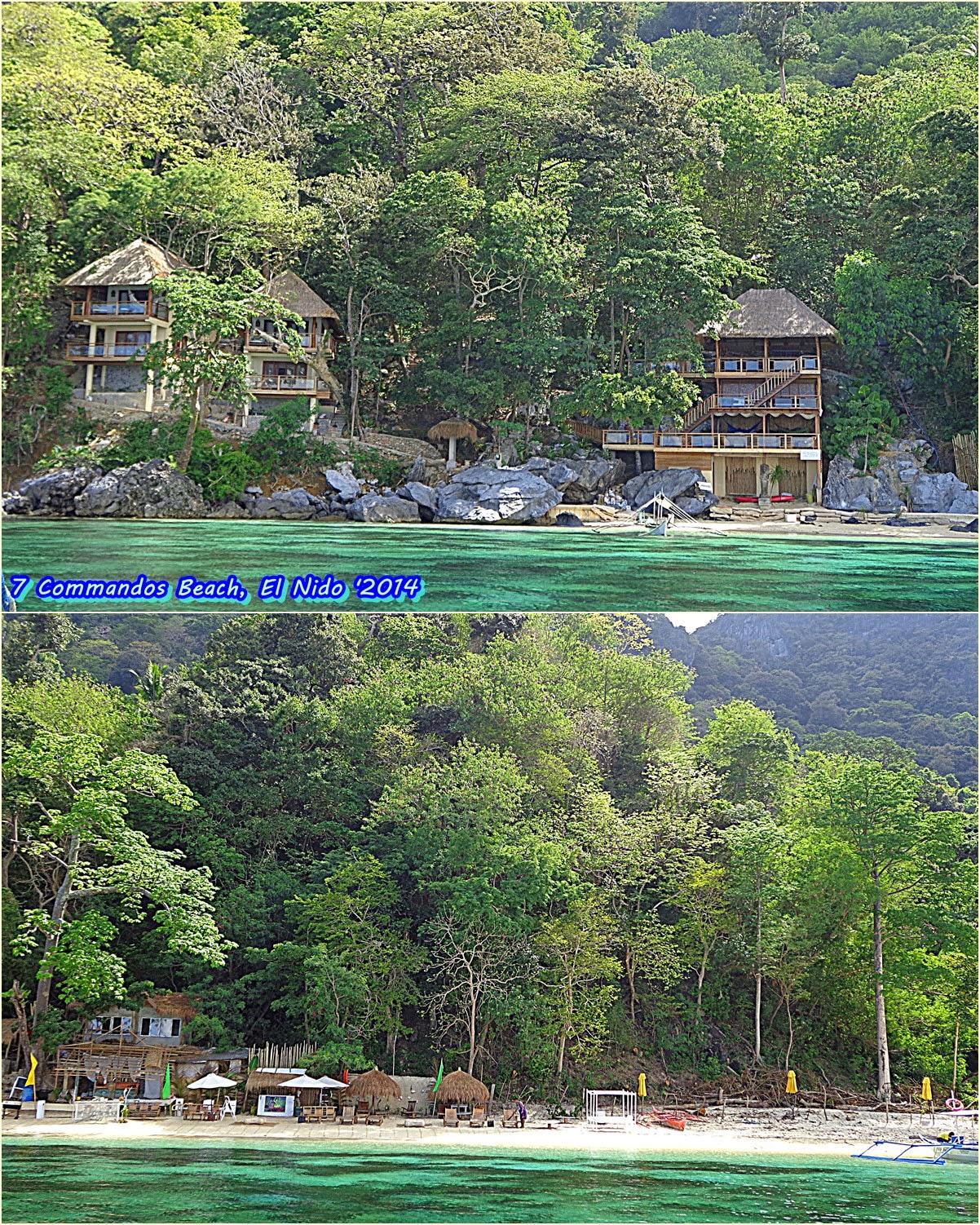 Seven Commandos Beach, Tour A, El Nido, Palawan