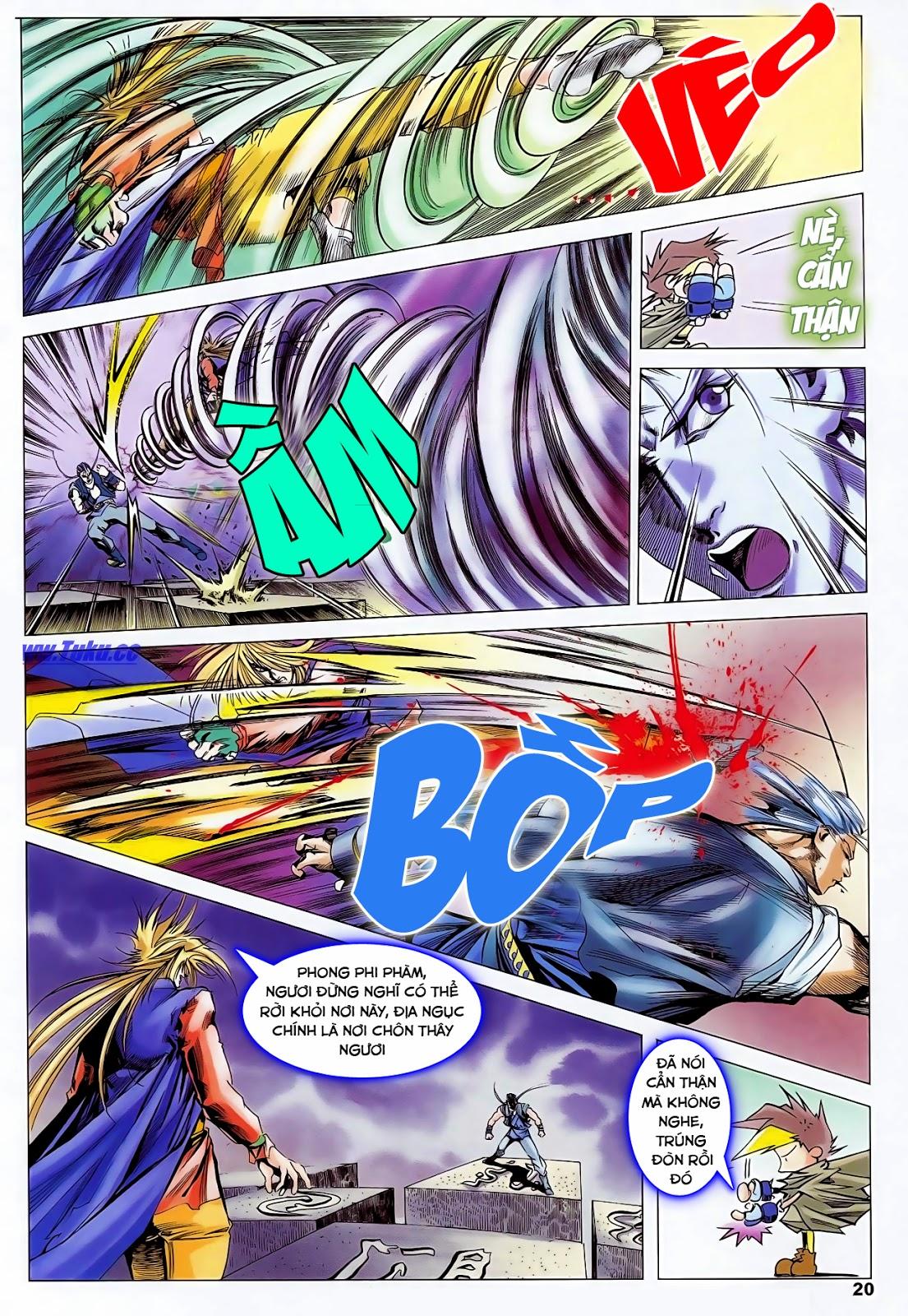 Lục Đạo Thiên Thư chap 47 - Trang 22