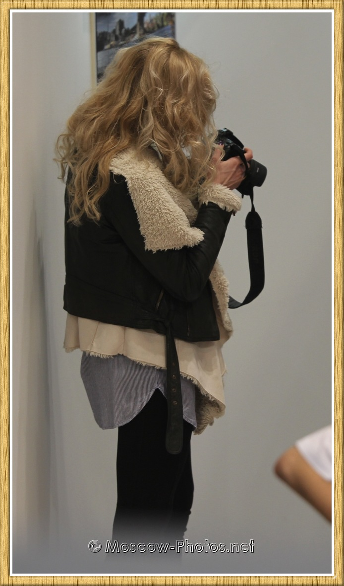 Cool Moscow Girl at Photoforum - 2011