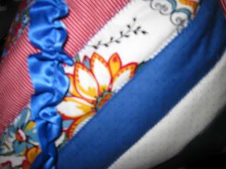 heavenlyhandmade jelly roll ribbon bag