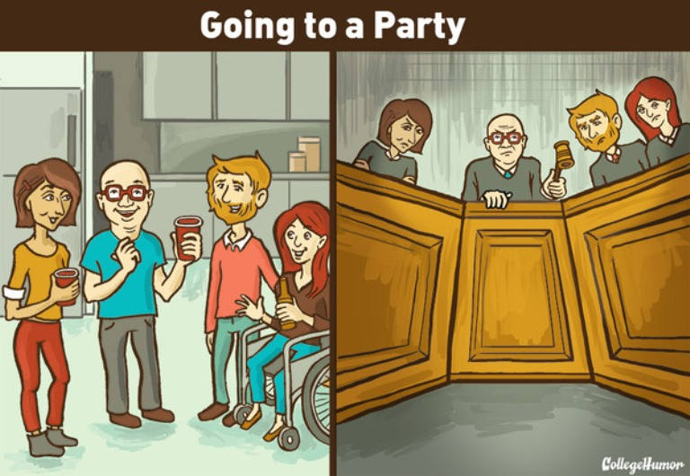 Comic Captures What the World Is Like for Socially Anxious People
