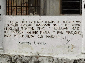 Frase del Che.