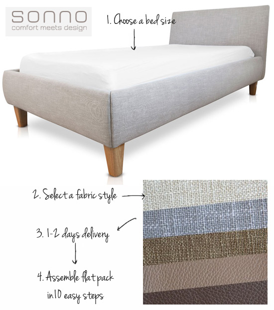 Amazing For those of you that find bed making a chore like me Sonno bed bases have extra space between the mattress and the bed frame making it super easy to tuck