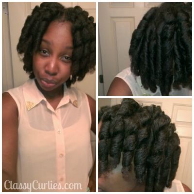 how to use curlformers on short natural hair