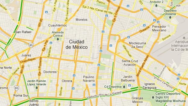 Google lanza cobertura de tránsito en tiempo real