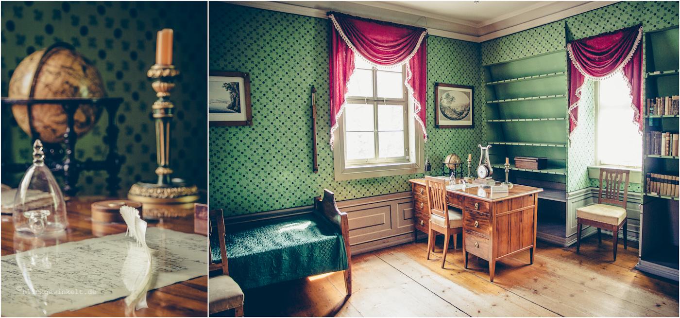 Schillers Wohnhaus, Schreibstube