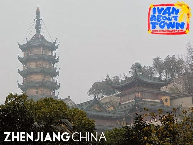 Cishou Pagoda, Jinshan Temple, Zhenjiang, China