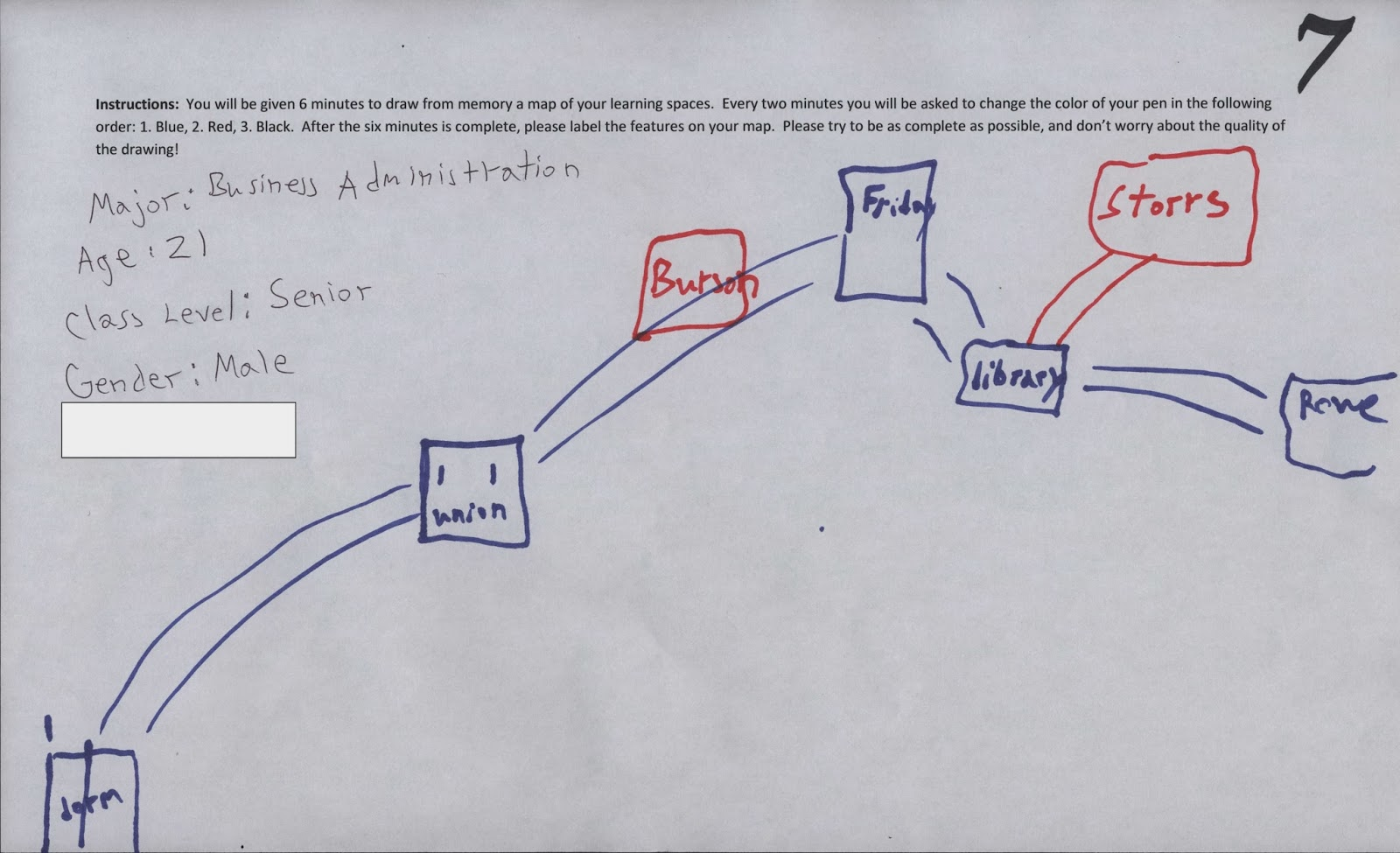 davidson college google maps essay project
