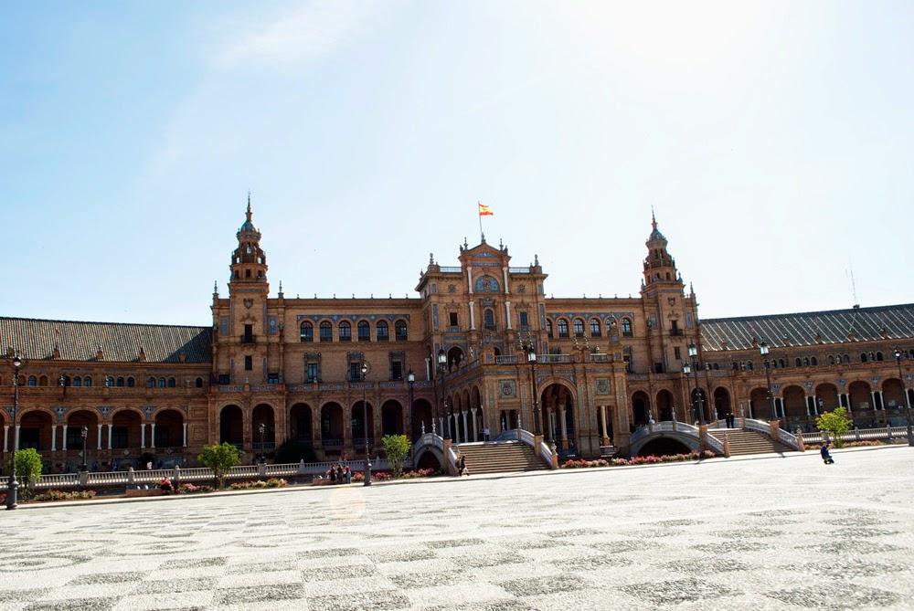 Seville, Spain, Plaza de Espana