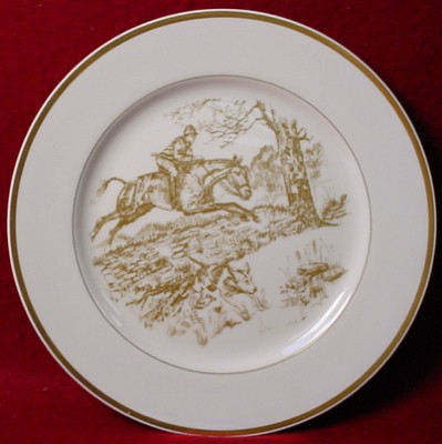 This is one of my favorite equestrian patterns and itu0027s been around a long time from Wedgewood. It was discontinued at one time and I believe they brought ...  sc 1 st  Horse Country Chic & Horse Country Chic: Equestrian China